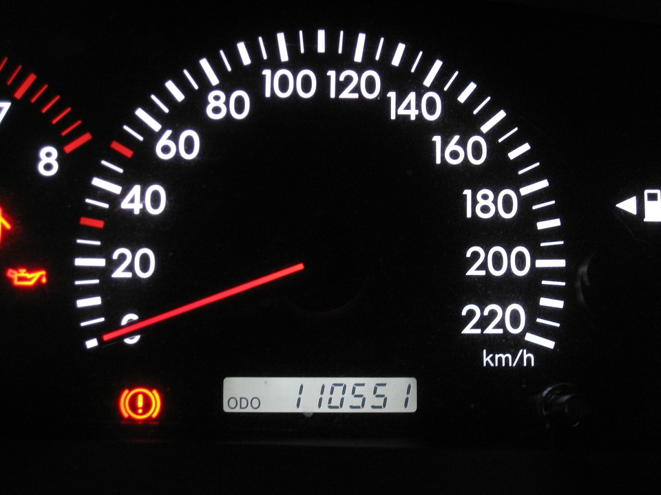 car mileage photo